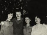 Я с сестрами Кирьяковыми